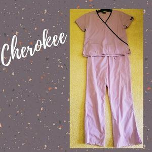 Cherokee Scrub Set